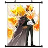Katekyo Hitman Reborn Anime Fabric Wall Scroll Poster (16x21) Inches.[WP]- Katekyo-831