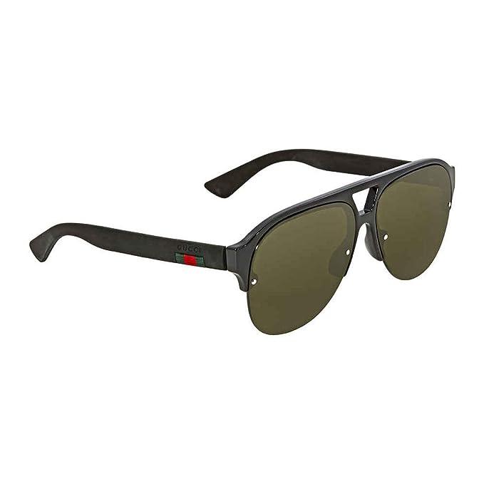 Gucci GG0170S 001, Gafas de Sol para Hombre, Negro (1/Green)