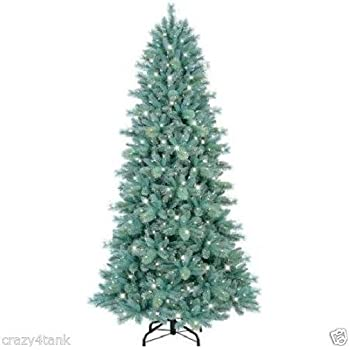 GE Pre-Lit 7.5' Tiffany Pine Artificial Christmas Tree, with 550 Clear  Lights - Amazon.com: GE Pre-Lit 7.5' Tiffany Pine Artificial Christmas Tree