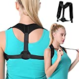 Best Posture Braces - Posture Corrector, Herwiss Adjustable Back Brace for Women Review