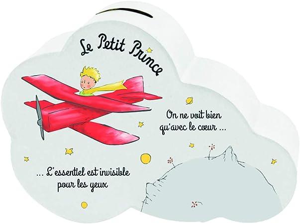 Il Piccolo Príncipe 525530 Caja de Dinero en Forma de Libro El Principito con el avión, Multicolor, talla única: Amazon.es: Hogar