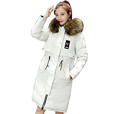 Amazon.com: CTRICKER - Chaqueta de invierno con capucha ...
