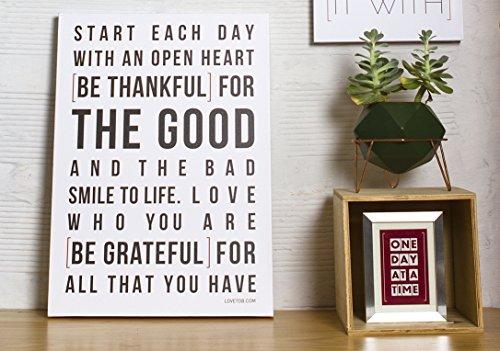 Love to Be - gratitude wall art - gratitude home decor