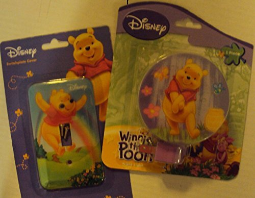 Pooh Switchplate (Disney Winnie the Pooh Night Light and Switchplate Cover)