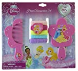 Disney Princess Vanity Disney Princess 7pc Hair Accessory Set - Vanity Set - Princess Hair Set