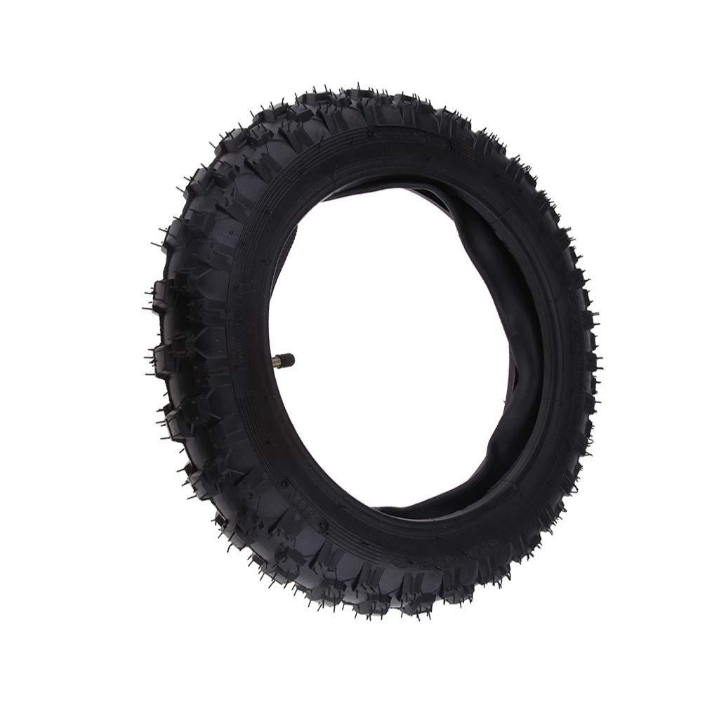 Black 2.50-10 2.50x10 Rubber Tire /& Inner Tube Set For CRF50 XR50 PW50 AOD