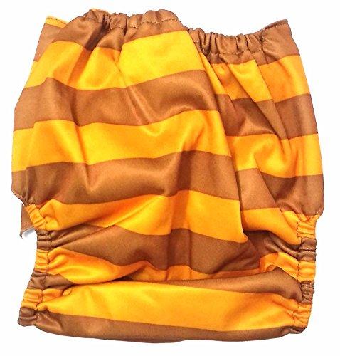 N M Reusable Cloth Diaper with Microfiber Insert   Orange