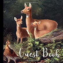 Guest Book: Woodland Creatures Baby Shower Guest Book Includes Gift Tracker and Picture Pages to  Create a Lasting  Memory Keepsake You Can Treasure Forever