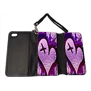 Heart Cross My Heart - iPhone 5/5s Trifold Wallet Case