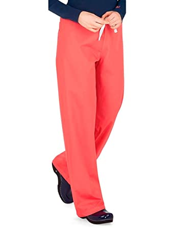 e4f66e299d9 Amazon.com: Landau Women's 9502 Urbane Relaxed Drawstring PantPapaya XL  Petite: Medical Scrubs Pants: Clothing