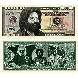 Jerry Garcia Grateful Dead $Million Dollar$ Novelty Bill Collectible