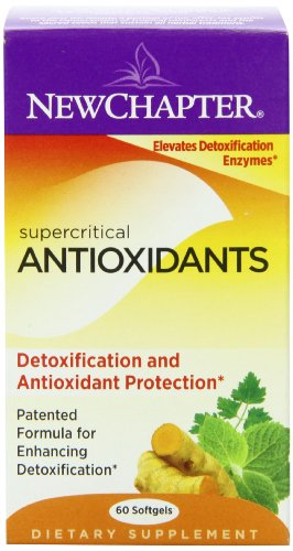 New Chapter Supercritical Antioxidants, 60 Softgels, Health Care Stuffs