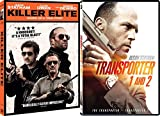 Jason Causing Mayhem Statham: Killer Elite & Transporter 1/ Transporter 2 (3 DVD Bundle)