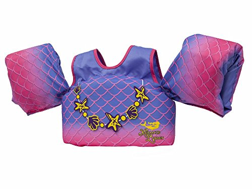 Life Jacket Life Vest (Body Glove 13226BM-Mermaid  Aquatic Mermaid Swim Life Jacket)