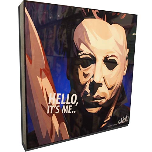 (Mike Myers Halloween Poster POP Art Print Canvas Quotes Wall Decals Framed Fan)