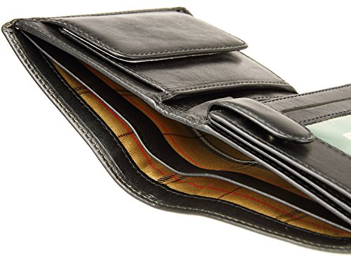 Coins For Black Banknotes Wallet Cards Visconti Italian Leather amp; Top MZ3 Credit Grade Mens STHP6AcB