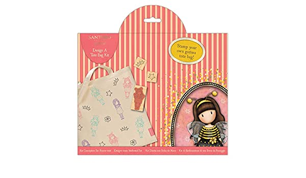 Amazon.com: Santoro Gorjuss Tote Bag Kit, Multi-Colour, One Size