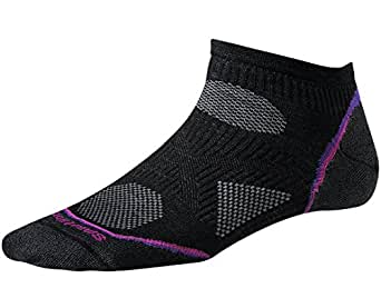Smartwool Womens PhD Cycle Ultra Light Micro Socks (Black) Large - Past Season