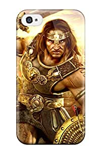 High-quality Durability Case For Iphone 4/4s(video Game Age Of Conan)