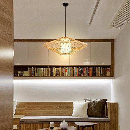 LUN YI Linterna china / simple / creativa / lámpara de lámparas de bambú de bambú antiguo / estilo del sudeste asiático / restaurante / lámpara de araña ...