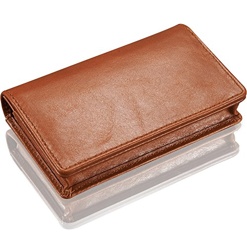 Kavaj leather business card holder case wallet singapore black or kavaj leather business card holder case wallet singapore black or cognac brown genuine reheart Choice Image