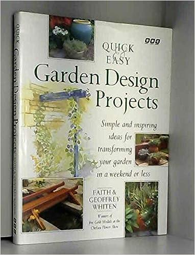 Amazon Com Quick Easy Garden Design Projects Simple