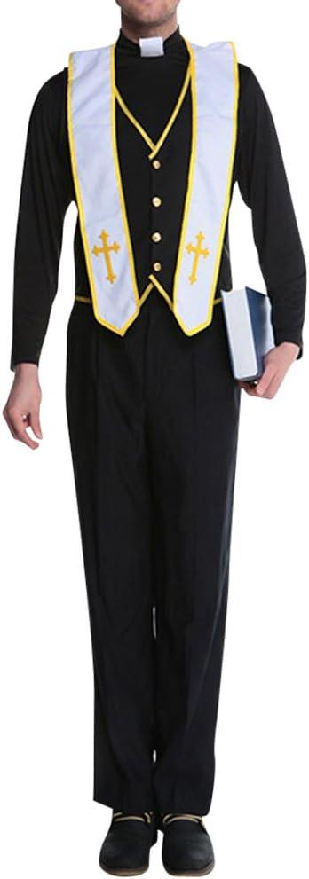 Disfraces de Halloween Disfraz de Pareja de Monja Y Cura Monja ...