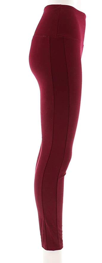 61b1570e369532 Lysse Smoothing Stretch Solid Ponte Pant 554-269 at Amazon Women's Clothing  store: