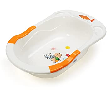 Buy LuvLap Baby Bathtub with Antislip - Orange Online at Low ...