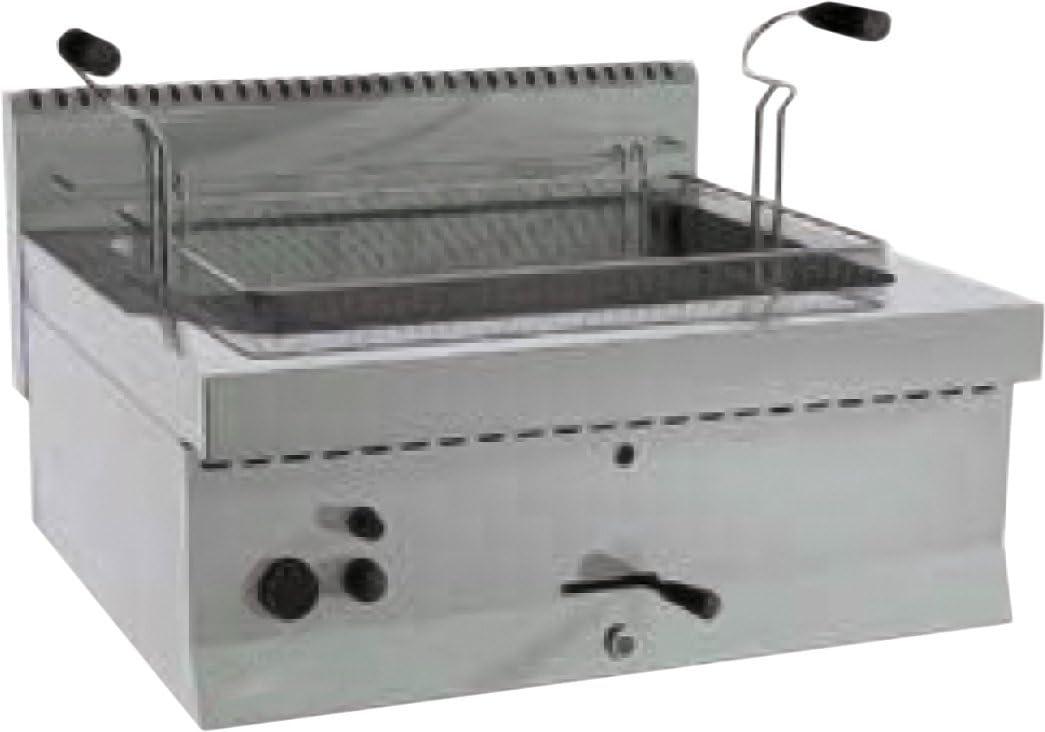 GAM Gastro - Conector de gas para freidora, 70 cm de ancho, 21 litros de aceite: Amazon.es: Bricolaje y herramientas