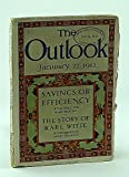 img - for The Outlook Magazine, January 27, 1912, Volume 100, Number 4 - Judson Harmon book / textbook / text book