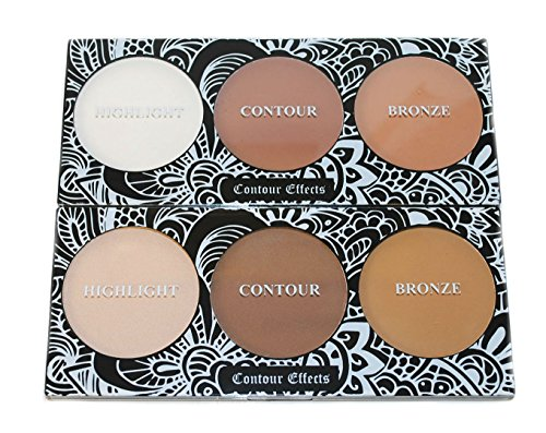 Premium Contour Highlight Bronx Makeup Effect Palette Set