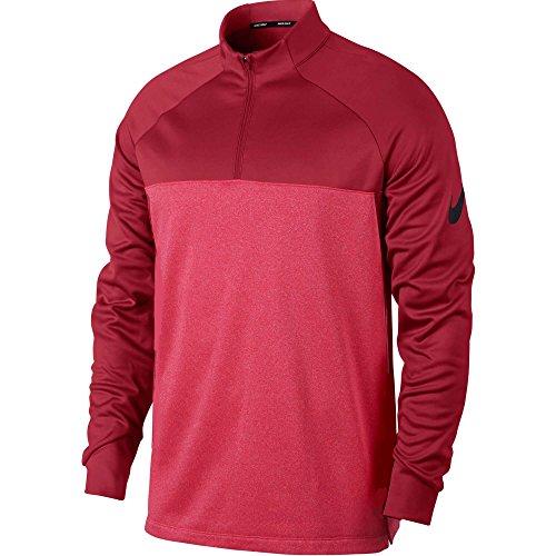 NIKE Therma Core Half-Zip Men's Golf Top (Gym Red, - Top Golf