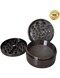 Investment (Limited Time Sale!) Mile High Grinder, The Perfect Grinder for Weed, Herb, Tobacco & Spices, 4 Piece-Grinder... deliver