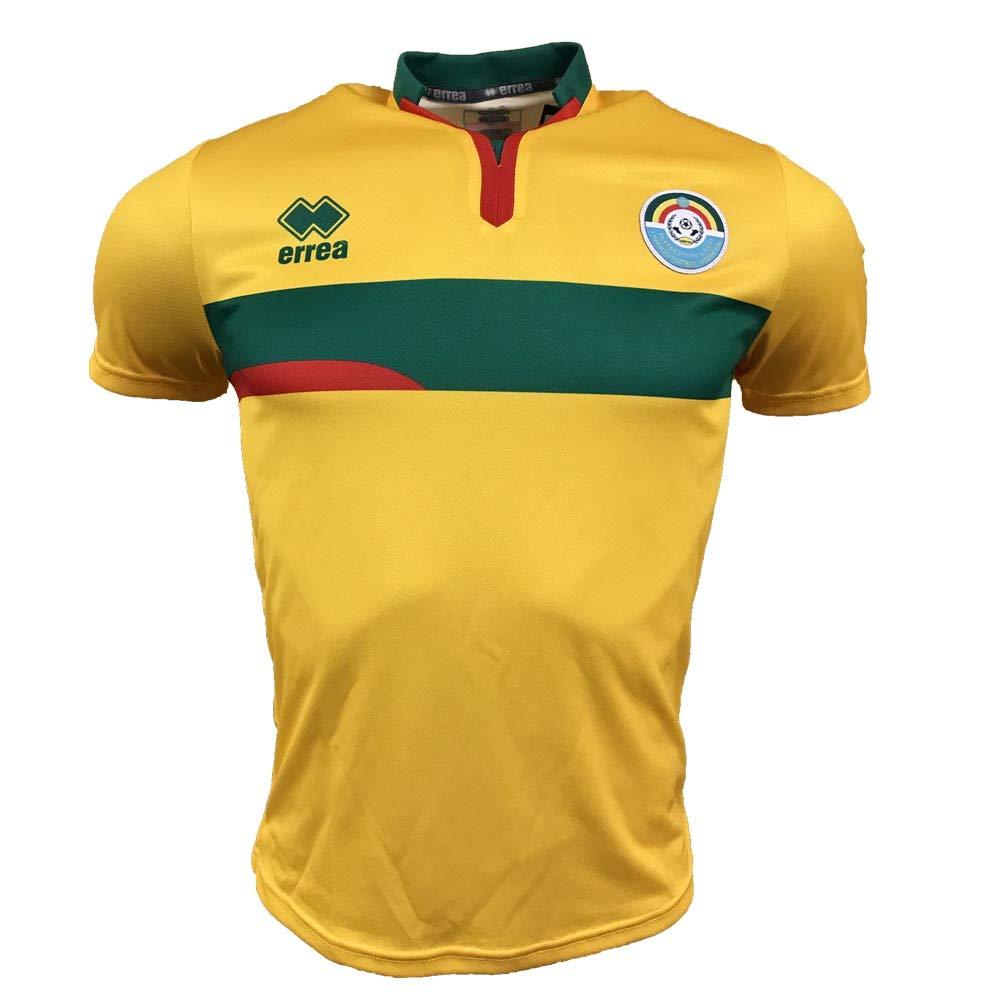 Errea 2018-2019 Ethiopia Away Football Soccer T-Shirt Trikot