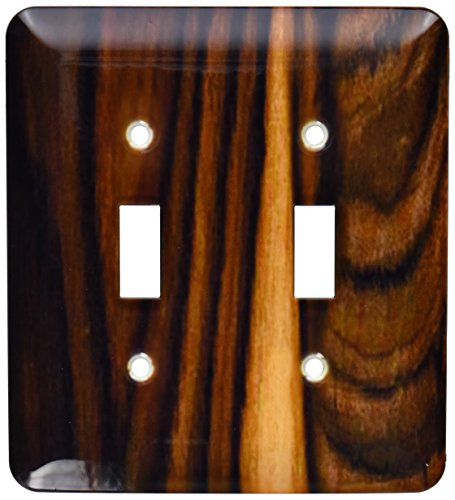 3dRose lsp_162477_2 Photo of African Oak Wood - Double Toggle ()