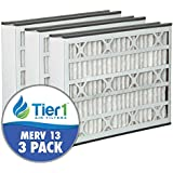 Bryant 16x25x3 MERV 13 Comparable Air Filter - 3PK