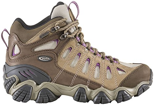 Pictures of Oboz Women's Sawtooth Mid BDRY Hiking Boot VIOLET _DELETE_ 7