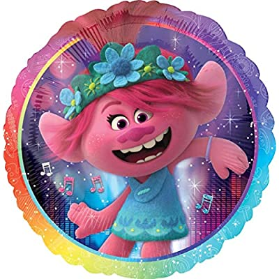 Trolls Party Supplies Poppy and Friends Chain Balloon Bouquet Decorations: Toys & Games
