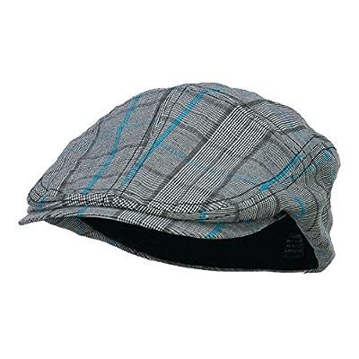 MG Men's Plaid Ivy Newsboy Cap Hat