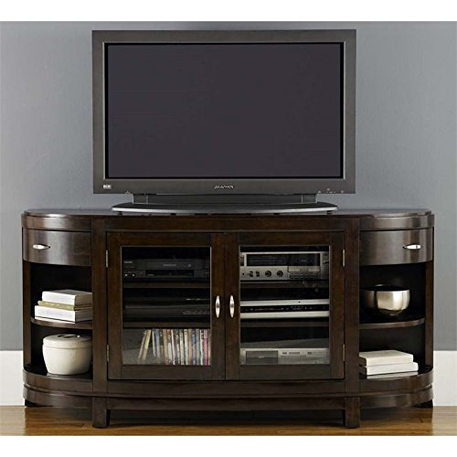 Liberty Furniture Avalon TV Stand in Dark Truffle