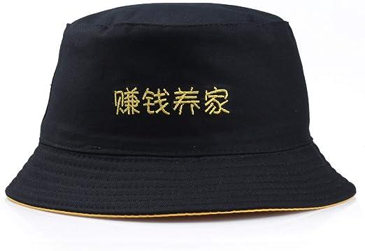 JEOSNDE Sombrero de Pescador de Doble Cara, Divertido, Pescador ...