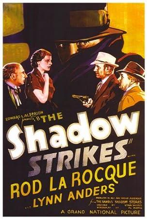 Póster de película La sombra Ninja y perro con 27 x 40 en ...