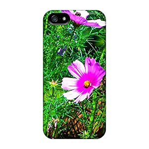 PLT13262wjSo Tpu Case Skin Protector For Iphone 5/5s Mother S Day Beautiful Flower Canadian Cosmos With Nice Appearance