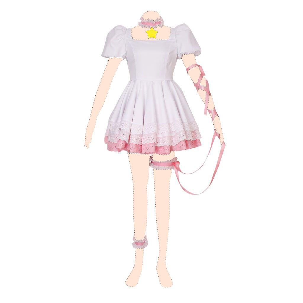 Cardcaptor Sakura Disfraz cosplay Sakura Kinomoto 3rd ver-fenbo dress XX-Large