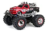 New Bright R/C F/F Mega Blast 4 x 4 Truck includes 12.8V Power Pack, Batteries and Charger (1:8 Scale) by New Bright - Import