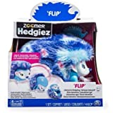 Zoomer Hedgiez Walk, Roll, Do Headstands, And More!, Flip, Interactive Hedgehog with Lights, Sounds and Sensors,