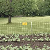 Premier Enhanced 20'' Electric Garden Net Fence, Yellow, 9/20/3EY