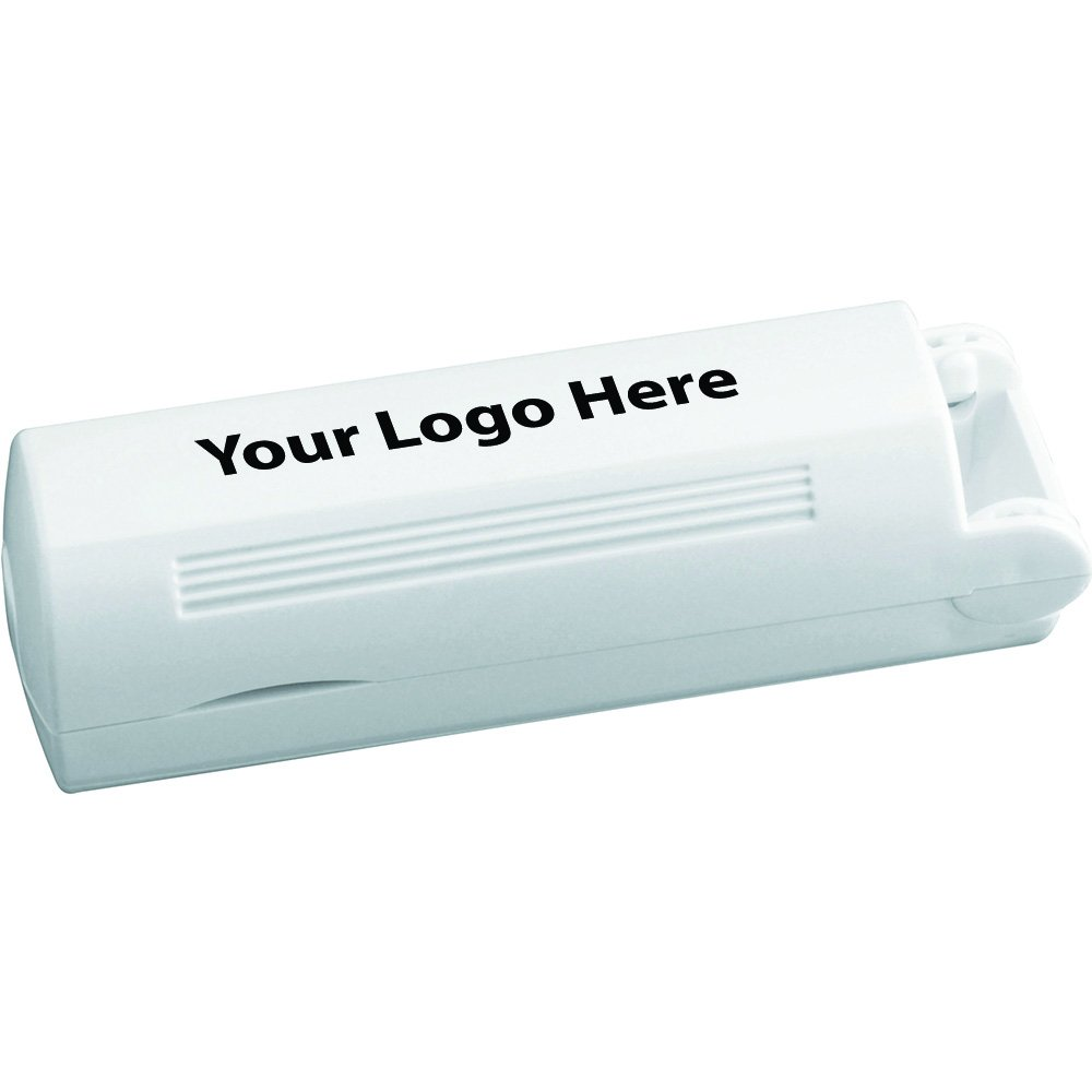 Folding Lint Roller - 225 Quantity - $1.50 Each - PROMOTIONAL PRODUCT / BULK / BRANDED with YOUR LOGO / CUSTOMIZED