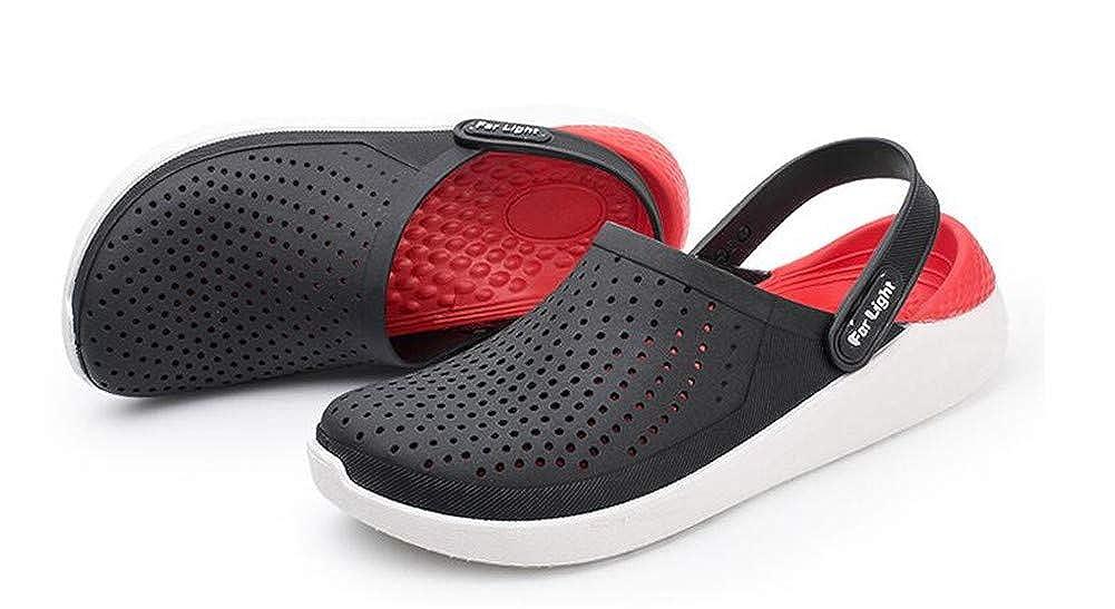 Pantoufles Sandales Homme Chaussures de Plage antidérapantes Souples Style décontracté